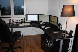 Sauder L Shaped Desk by Furniture L Shaped Long Computer Desk Combined Lucite Armchair