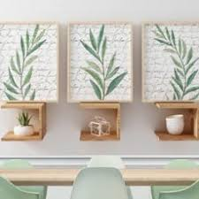 Nonsensical Artwork For Dining Room Wall Neutral Etsy Eucalyptus Art Prints Watercolor Set Kitchen Green Bedroom