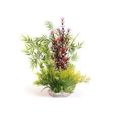 plante artificielle pour aquarium plante artificielle calypso décoration pour aquarium