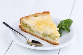 rhabarber kuchen mit quark eier sahne guss eico der