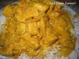 cuisine indienne poulet poulet au curry la cuisine facile de mymy