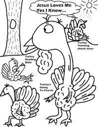 Thanksgiving Coloring Pages Religious