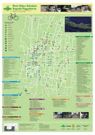 Bicycle Friendly Green Map Of Yogyakarta The Dummy September 2008