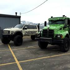 Ford F-350 Power Stroke Diesel 'Super Six' 6 Door 6X6 Patriot Tires ...