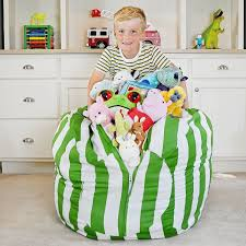 Honana Large Capacity Stuffed Animal Storage Bean Bag Canvas Chair Hammock  Home Organizer For Kids' Plush Toys Clothes Nobildonna Stuffed Storage Birds Nest Bean Bag Chair For Kids And Adults Extra Large Beanbag Cover Animal Or Memory Foam Soft 7 Best Chairs Other Sweet Seats To Sit Back In Ehonestbuy Bags Microfiber Cotton Toy Organizer Bedroom Solution Plush How Make A Using Animals Hgtv Edwards Velvet Pouch Soothing Company Empty Kid Covers Your Childs Blankets Unicorn Stop Tripping 12 In 2019 10 Of Versatile Seating Arrangement