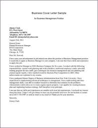 Sample Business Letters Example Business Letter