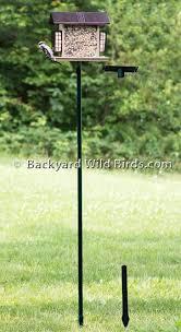 Bird Feeder Station Base Pole