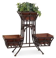 Outdoor Patio Plant Stands by 34 Best Planter Stands Images On Pinterest Wrought Iron Irons