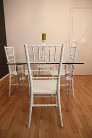 designer acryl esszimmer set ghost chair table polycarbonat möbel 1 tisch 4 stühle casa padrino designer möbel weiß casa padrino designer