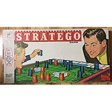 Stratego Board Game Vintage 1961 Strategy