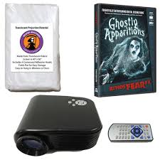Halloween Ghost Projector by Halloween Digital Decoration Kit Includes 800 X 480 Resolution