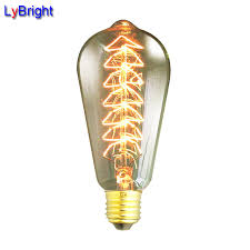 st64 e27 ac 110v 220v incandescent vintage edison light