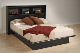 Laguna King Platform Bed With Headboard by King Bookcase Headboard Storage Bed Doherty House Bookcase