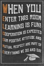 Welcome New Classroom Motivational Poster