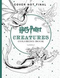 Details About Harry Potter Creatures Coloring Book