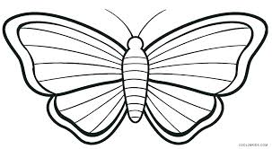 Butterfly Coloring Picture Cute Pages Printable Page Extraordinary