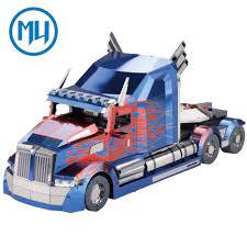 100 Truck Kits MU 3D Metal Nano Puzzle OP Model Kit YM L039 DIY 3D Laser Cut