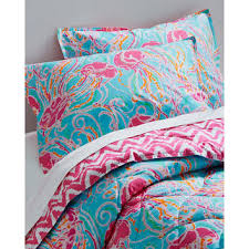 Lilly Pulitzer Resort Chic forter and from Garnet Hill