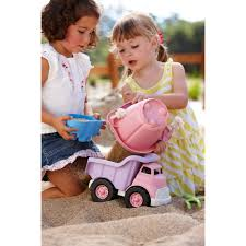 Buy Green Toys Dump Truck, Pink | Cheapest Green Toys Deals And Reviews