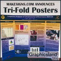 MakeSigns Announces New Tri Fold Scientific Posters