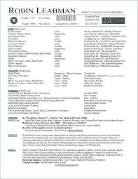 Theatre Resume Template Inspirational How To Make An Acting With No Experience