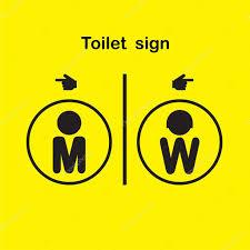 de toilettes homme et femme symbole de toilettes image