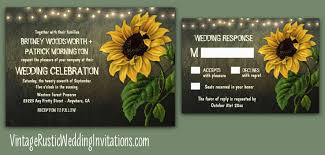 Rustic Sunflower Wedding Invitations Sample Of Catchy Invitation To Initiate Your Idea 6
