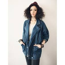 Women Fashion Trends 2017 New Arrived Korean Coat Loose Denim Jackets Plus SizeCasual Outwear Suitable