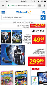 Wall Decor Stickers Walmart Canada by Deals Image Walmart Canada Has The Ps4 Slim Uncharted Bundle For