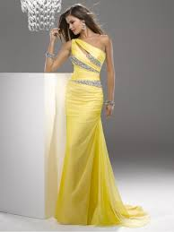 one shoulder long prom dresses evening party dresses 802039