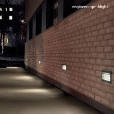 amazing recessed floor light fixture wall led rectangular for