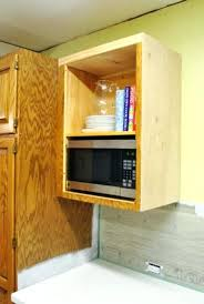 Wall Cabinet With Microwave Shelf Microwave Wall Cabinet Unit