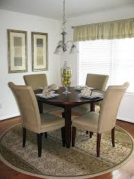 Dining Room Rugs Area For Under Kitchen Tables Awesome A Mesmerizing Patterned Round 9 X 12
