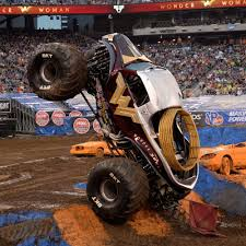 Wonder Woman Monster Truck | Monster Jam Wheelzz | Pinterest ...