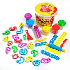 set de pâte à modeler de l alphabet arabe dough