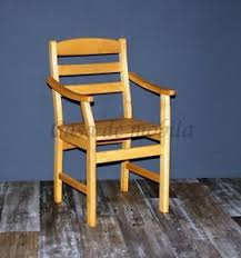 details zu armlehnstuhl erle massiv geölt stuhl mit armlehnen holz seesel eßzimmer stühle