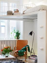 die kleine wohnung einrichten mit hochhbett freshouse