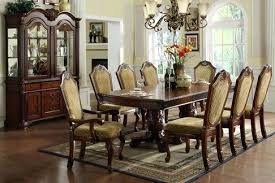 Full Size Of 7 Dining Set Valley Dark Cherry Finish Formal Room Sets For Sale By