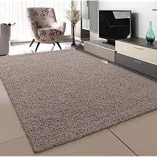sanat teppich wohnzimmer beige hochflor langflor teppiche modern größe 60x110 cm
