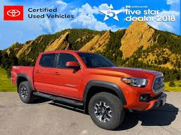 100 Edmunds Used Trucks 2017 Toyota Tacoma For Sale Boulder CO Call 877751