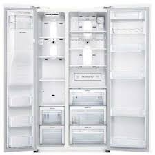48 Cabinet Depth Refrigerator by Counter Depth White Refrigerators Appliances The Home Depot