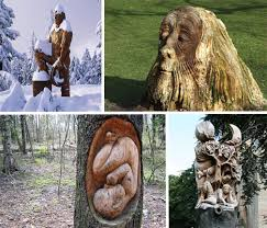 Wood Carving Trees As A Medium For Unique Art