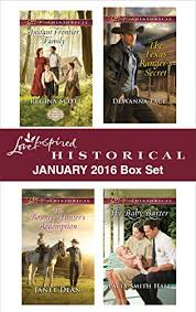 Love Inspired Historical January 2016 Box Set Instant Frontier FamilyThe Bounty Hunters Redemption