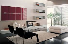 modern minimal grey color living room design rooms with red walls