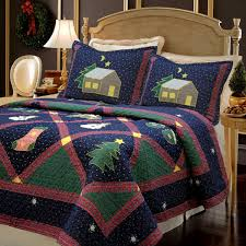 Christmas Night 3piece Quilt Set Twin Walmartcom