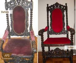 All Furniture Repair Restoration REFINISHING uPHOSTERY Leather dye