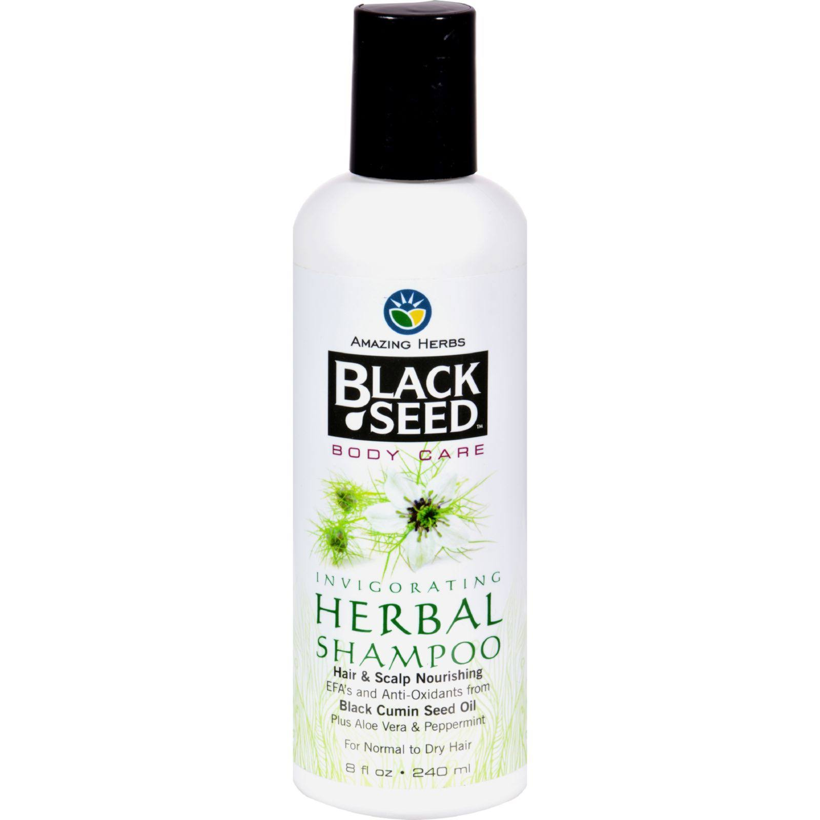 Amazing Herbs Black Seed Herbal Shampoo - 240ml