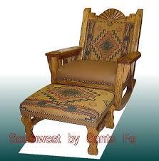 Sunburst Southwestern Rocking Chairs