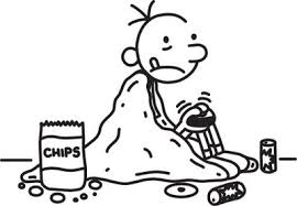 Diary Of A Wimpy Kid Coloring Pages 6