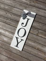 Joy Wood Sign Holiday Christmas By CraftCrazedMom